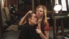 Willem Dafoe y Shanyn Leigh