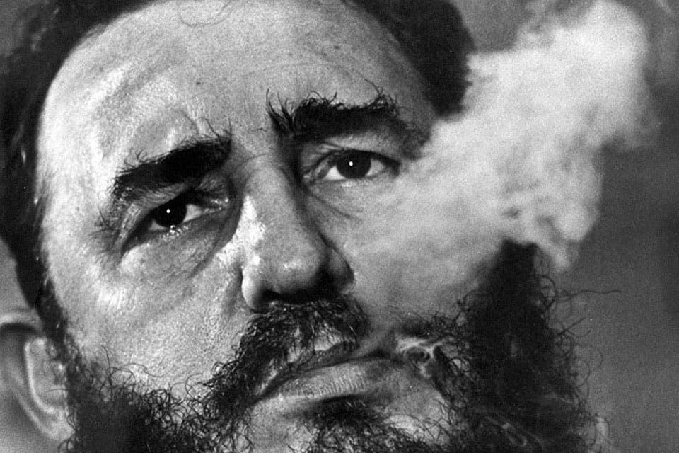 Fidel Castro durante los años de la revolución