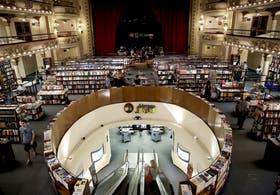 El Ateneo Gran Splendid, una de las librerías más impactantes de la ciudad