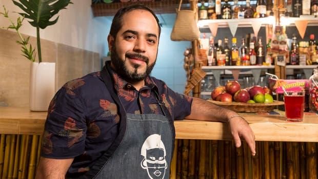 El chef Javier León es uno de los personajes más reconocidos de la colectividad