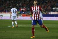 Con un gol de Ángel Correa, el Atlético Madrid del Cholo Simeone ganó y sigue a 8 puntos de Barcelona