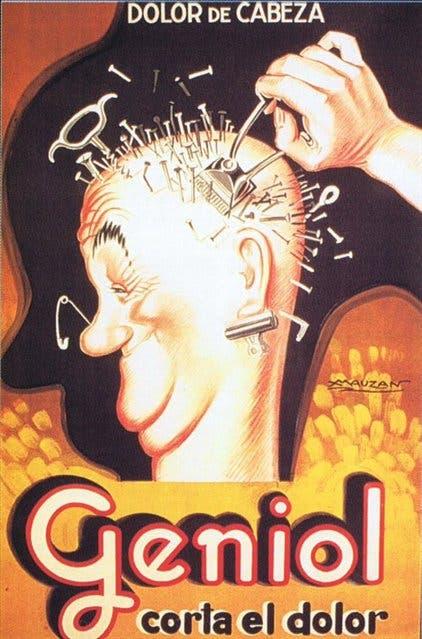 Geniol: la imagen se volvió un ícono de la publicidad gráfica