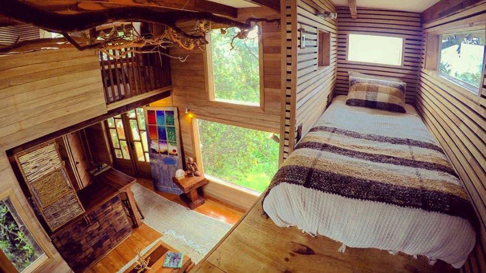 Cómo es vivir en una verdadera Casa del Árbol