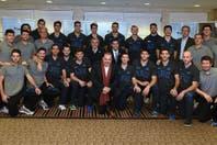 La selección argentina masculina de voleibol lanzó su temporada olímpica