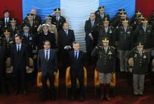 Mauricio Macri, durante el acto del Día del Ejército