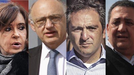Cristina Kirchner, Héctor Timerman, Andrés Larroque y Luis D Elia, denunciados por el fiscal Alberto Nisman