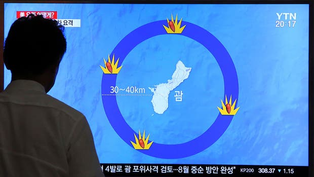 Así es el plan de Kim Jong-un para probar su fuerza ante Trump en la isla Guam