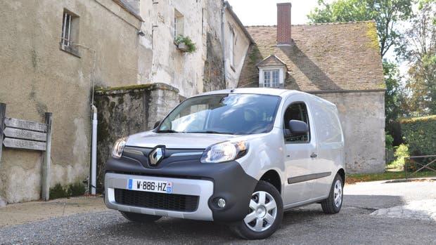 Renault Kangoo ZE, 100% eléctrico