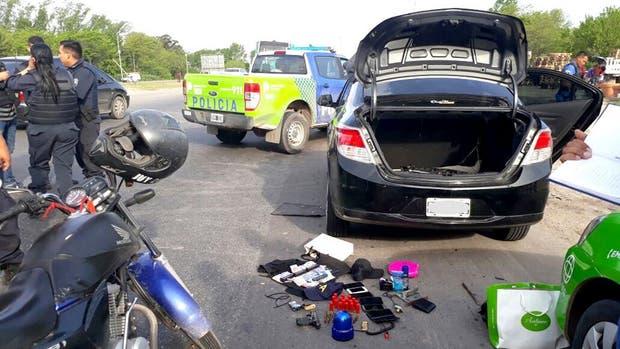 El automóvil utilizado para el secuestro había sido robado en septiembre del año pasado en Avellaneda