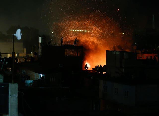 Incendio en la villa 31