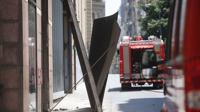Fuerte explosión en el Hotel InterContinental: hay heridos y los huéspedes fueron evacuados