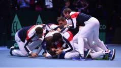 Copa Davis: Francia venció a Bélgica y se consagró campeón