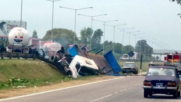 Las imágenes de la explosión en Panamericana: murieron dos personas