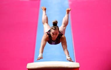 Elizabeth Black de Canada competirá en Gimnasia Artística