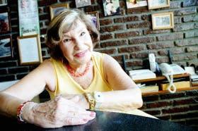 Para Marión Burghardt, es como un talismán que la protege