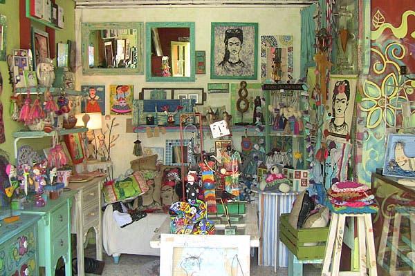 Miles de objetos para decorar la casa. Foto: Cecilia Wall