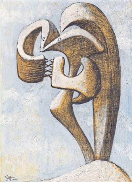 Figura - Pablo Picasso, 1930