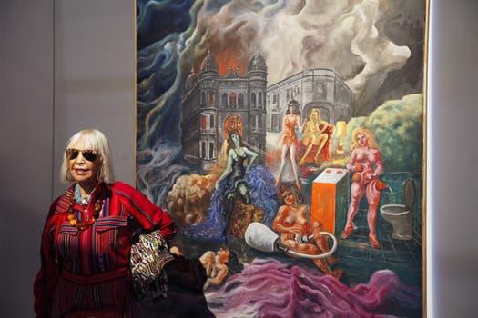 La obsesión de la belleza (1976) ANTONIO BERNI. Sur - US$ 390.000.
