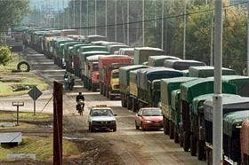 Los transportistas de cereales se quejan de la menor actividad