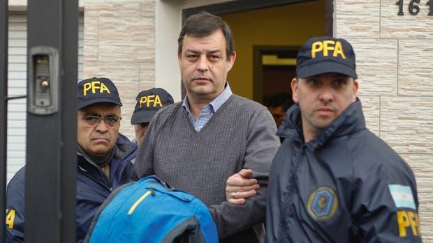 Víctor Manzanares, detenido por los negocios de los Kirchner