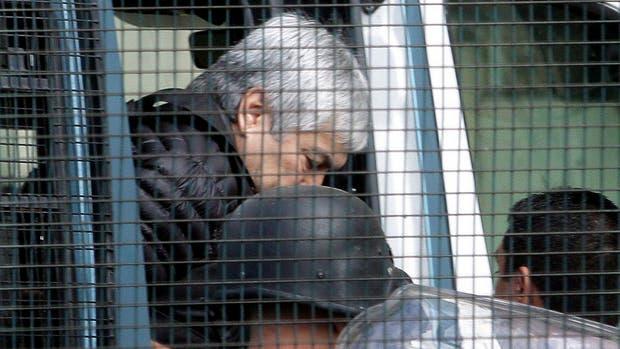 Lázaro Báez aceptó ayer hablar por primera vez, pero no abundó en detalles sobre su relación con los Kirchner