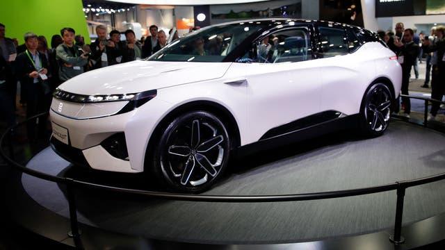 El prototipo del auto eléctrico Byton