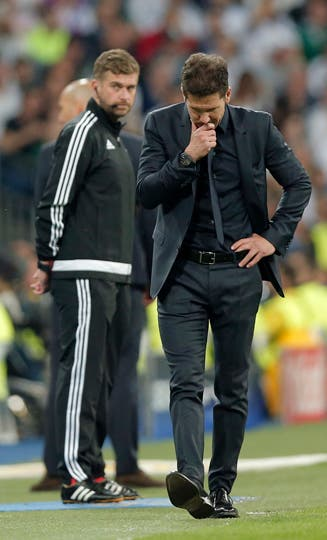 Simeone asimiló el golpe de la derrota en el derby