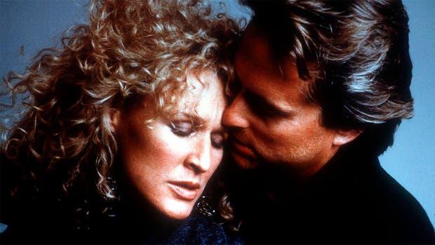 La pareja protagónica de un clásico de los 80