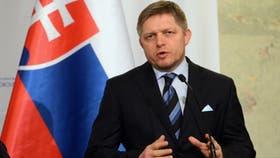 Robert Fico, el primer ministro de Eslovaquia