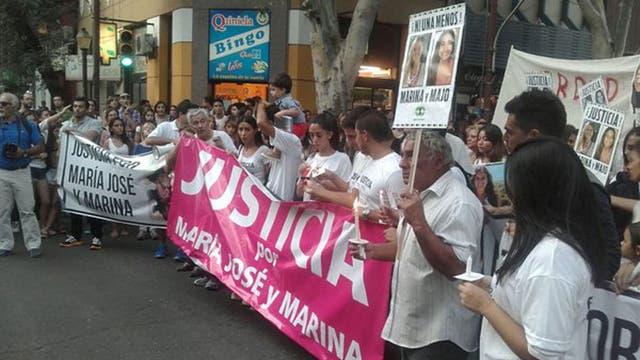 Miles de mendocinos en la marcha piden justicia