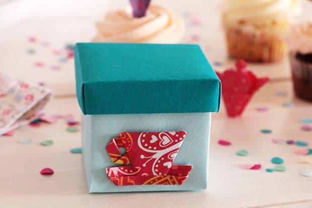 Cajitas para hebras de té, de Origamizate.