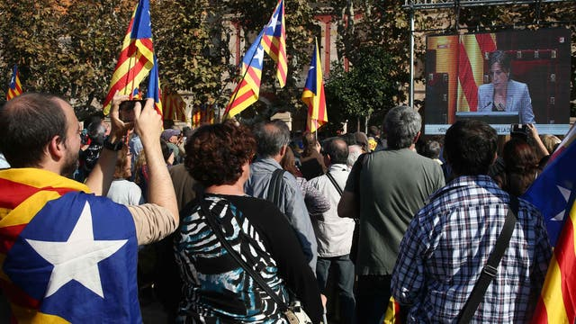 Cataluña busca independizarse de España