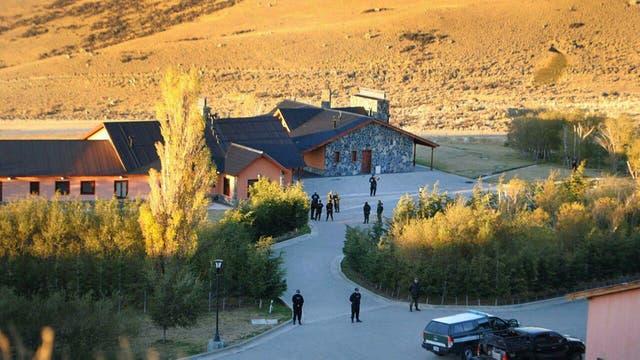 La estancia Cruz Aike, a 50 km. de El Calafate. Foto: Raúl Velázquez