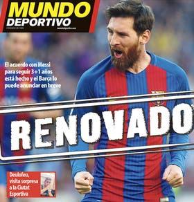 La portada de Mundo Deportivo