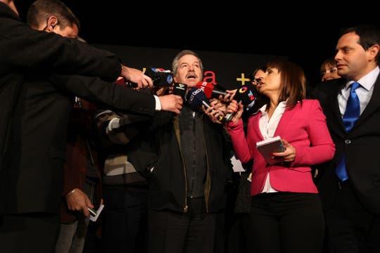 Felipe Solá, candidato por el Frente Renovador. Foto: LA NACION / Ezequiel Muñoz