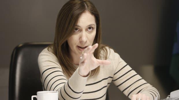 """María Eugenia Vidal se sumó al debate sobre la duración de los mandatos: """"Creo que con seis años alcanza"""""""