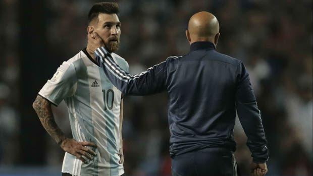 Argentina, Peru, Messi, Lionel Messi, Sampaoli, World Cup 2018, vòng loại World Cup 2018