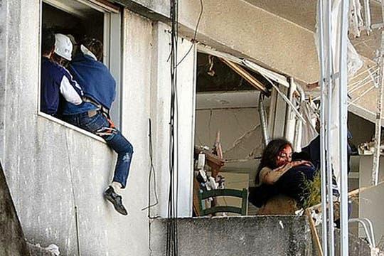 Fuerte explosión en un edificio de Rosario. Foto: Gentileza: Diario La Capital de Rosario