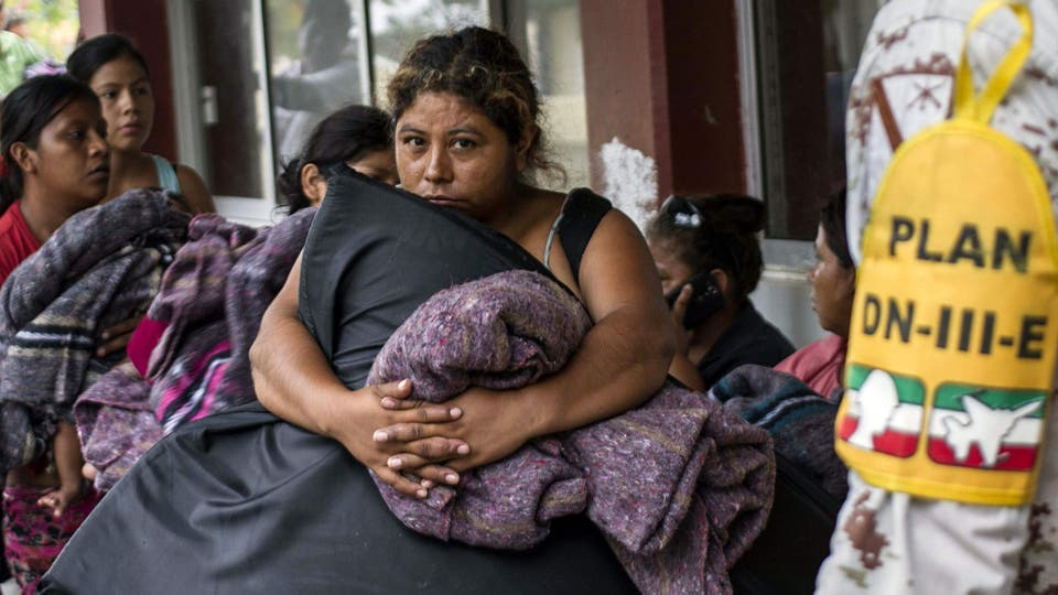 Cientos de personas fueron evacuadas . Foto: AFP