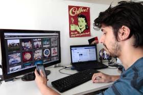Facundo Falduto actualiza constantemente sus avatares de Facebook, LinkedIn, Twitter e Instagram