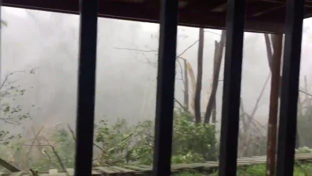 El huracán María llegó a Puerto Rico y causó estragos. Foto: Reuters