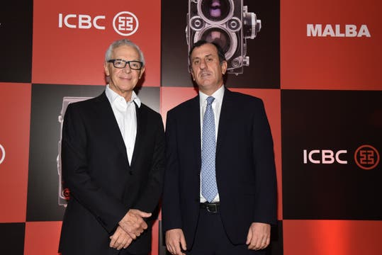 Pablo Pérez Marexiano, Director de Banca Corporativa de ICBC Argentina junto a .