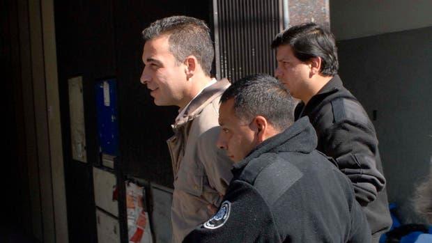 César Ghirardi cuando fue condenado en 2010
