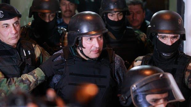 José López permanece detenido en el penal de Ezeiza