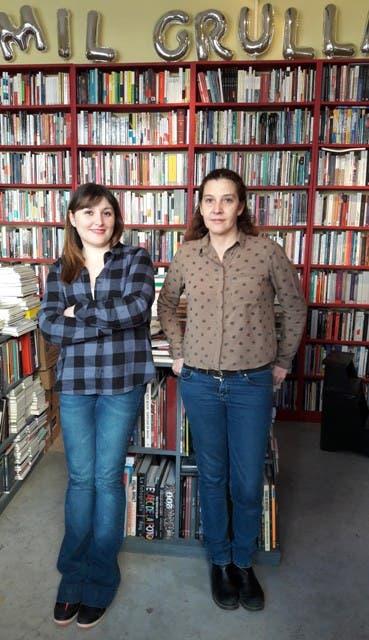Lula Baetti y Bety Lozano, dueñas de la librería