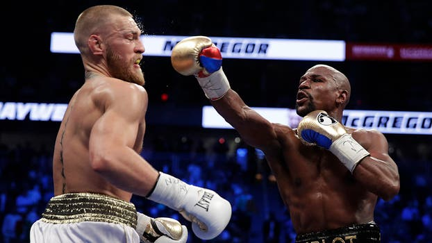 El gran combate en Las Vegas. Foto: AP