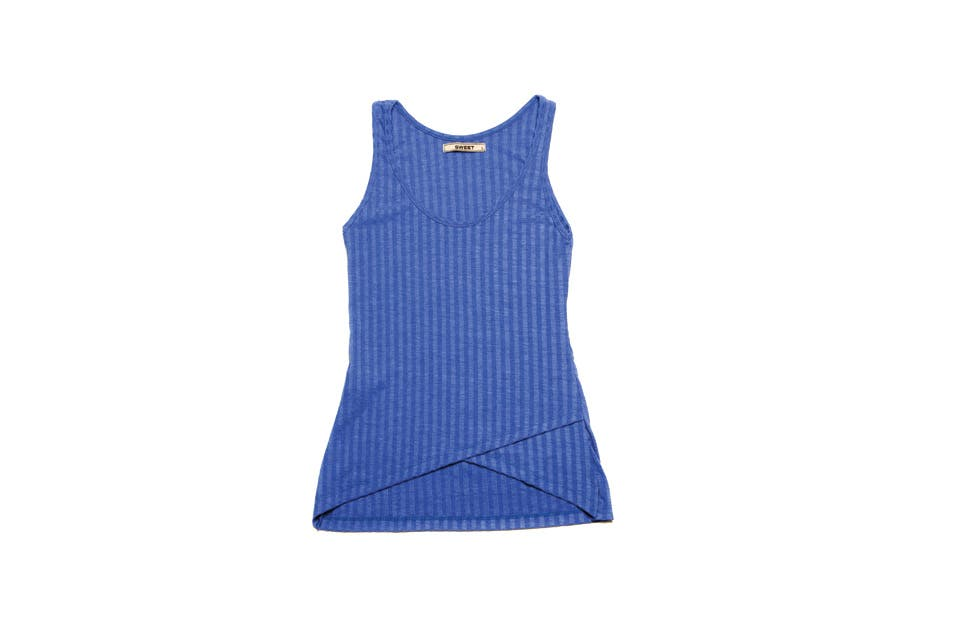 Musculosa (Sweet, $425). Foto: OHLALÁ!