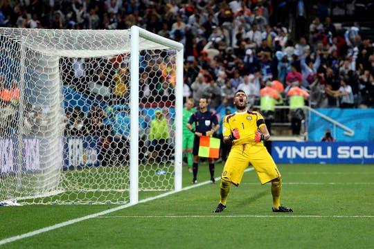 Argentina llega a la final tras ganarle a Holanda en los penales. Foto: LA NACION / Juan López / Enviado especial
