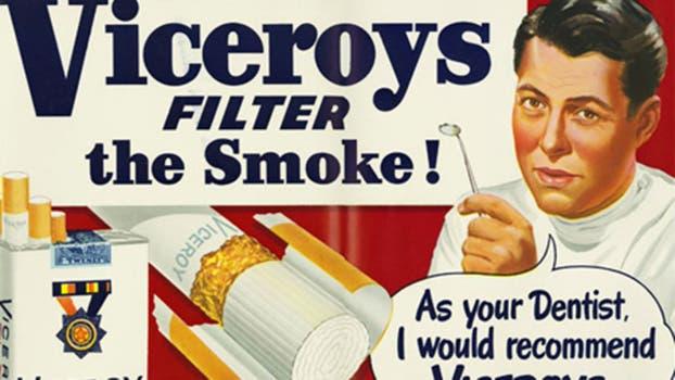 Cuando el cigarrillo era recomendado por los médicos.