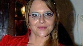 La periodista detenida Estefanía Heit